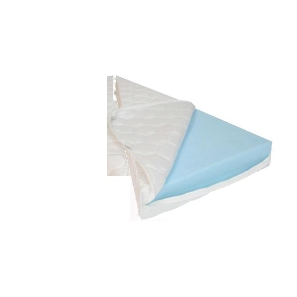 HR55 koudschuim matras op maat in een driehoek.